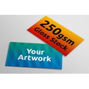 Business Cards - 250gsm Gloss Stock - 90mm x 54mm