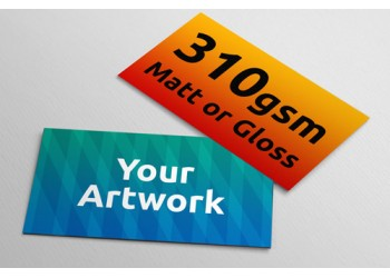 Business Cards - 350gsm - 90mm x 55mm