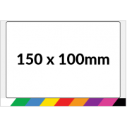 150x100mm Printed Paper or Synthetic Labels